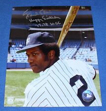 Paul Blair Autographed 8 x 10 Photo Authenticated, New York Yankees