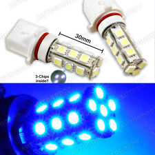 2x Blue P13W LED Bulbs Camaro Fog Lamp Driving Light RS package