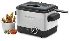 Cuisinart CDF-100 Compact 1.1-Liter Deep Fryer, Brushed Stainless Steel