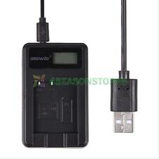LCD NP-BN1/NP-120 Battery Charger Camera Charging For Sony CyberShot DSC-W310