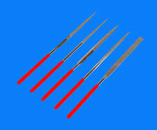 Diamantfeilen Schlüsselfeilen Feilen Set Modelbau Nadelfeilen 140mm TP 5 tlg