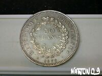 FRANCE / 50 FRANCS - 1979 / SILVER COIN