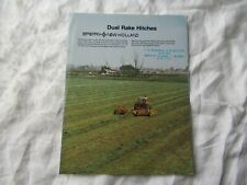 1983 Sperry New Holland Dual Rake Hitches Brochure