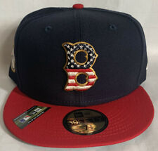 Boston Red Sox New Era Stars Stripes 4th of July 59FIFTY Fitted Hat 7 3/8