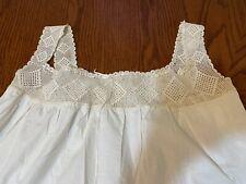 Antique Undergarment Crochet White Nightwear - Underwear