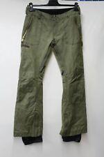 BURTON Men's Green Cargo Pants Snowboard Ski Climbing Trousers Size M W32L34 NEW