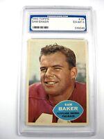 1960 Topps Sam Baker #24 PGS EX-MT 6 Cleveland Browns Fullback