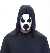 HARD CORE MANIACS HALLOWEEN Costume Meth Head Gas Mask - Lightweight - blk/white