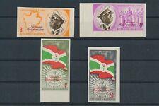 LM44070 Burundi imperf independence fine lot MNH