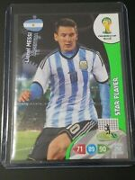 2014 Panini Adrenalyn XL Lionel Messi Star Player... Mint Condition... Hot!!!