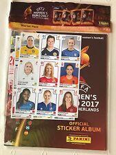 Panini Women's UEFA Euro EM 2017 Niederlande - Starter-Pack mit Album Schweiz