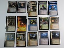Lot of 21 Fellowship of the Ring Rare/Promo Cards Lotr Tcg 2001 Decipher Nm/Sp