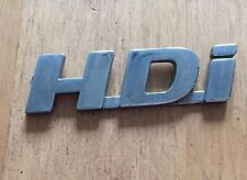 "Peugeot 307 406 ""IDH bas"" rear/Side Badge Logo emblème (d68)"