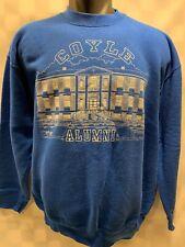 Vintage COYLE Alumni 1998 Blue Sweat Shirt Men's Size L