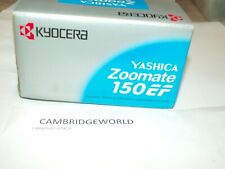 New Kyocera Yashica Zoomate 150EF Compact AUTOFOCUS ZOOM DATE 35mm Camera IN BOX