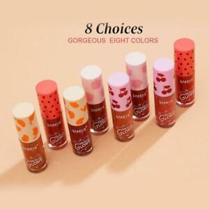 Waterproof Long Lasting Natural MakeUp Woman Liquid Makeup Gloss lipstick V1B0
