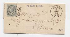 S238-MARCHE-VITT.EM.II-5 CENT DA CARTOCETO X FANO 1866