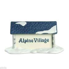 Alpine Village Sign #65714 Dept 56 Retired Alpine Village Accessory Retired 1993