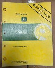 John Deere 3155 Tractor Operator Manual Om L60017 F7 O 7