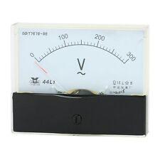 1Pcs AC 300V Analog Panel Volt Voltage Meter Voltmeter Gauge 44L1 AC 0-300V