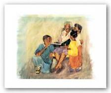 Pass it On Limited Edition Alonzo Adams African American Art Print 21x26
