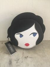 Lulu Guinness Doll Face Foldaway Shopper/tote Bag. New with Tags