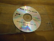 CD Pop Walk Off The Earth - Somebody That (1 Song) Promo SONY / ARIOLA disc only