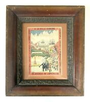 Paris Vintage French Travel Advertising Framed Poster Art North Pole Expedition