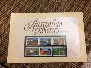 Australia Stamp Pack #2 - Australian Explorers - Mint