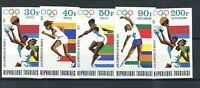 Togo MiNr. 930-34 B postfrisch MNH Olympia (Oly2546