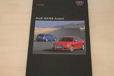 176590) Audi S4 Limousine - S4 Avant Pressemappe 09/2008