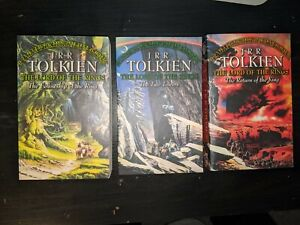 Lord Of The Rings Bookset JRR Tolkien