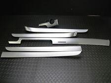 Audi A4 B7 Dekorset innen Dekor Blenden Zierleisten Set Aluminium gebürstet