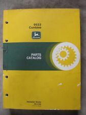 John Deere 6622 Combine Parts catalog Manual