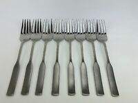 """8 Dinner Forks Oneida Deluxe MODERN ANTIQUE Stainless 7 1/4"""""""