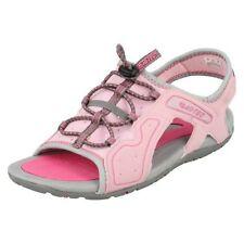 Calzado de niña sandalias gris sintético