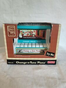 Fisher Price Toys Change A Tune Piano With 3 Tunes New in box Classic Toy