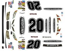 #20 Matt Kenseth Freightliner Toyota 2014-2017 1/32nd Scale Slot Car Decals