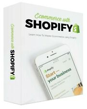 ✅ Ecommerce With Shopify PDF with Resell Rights ✅ Only $0.99 ✅ 2020 Edition