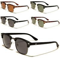 Polarised Clubmaster Sunglasses Fashion Full UV400 5 Styles Mens Womens UV400