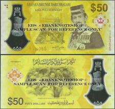 Brunei,PNew,50 Dollar,2017,Polymer,Uncirculated,Comm Issue @ Ebanknoteshop