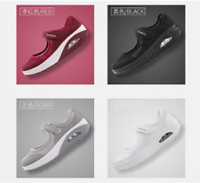 Women Breathable Trainers Sneakers Ladies Mesh Comfy Slip On Sport Running Shoes