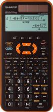 Sharp EL-W531 XG YR Orange Schulrechner Solar Taschenrechner natürliche Anzeige