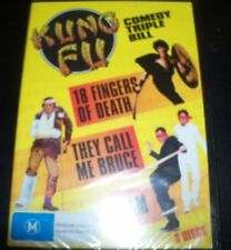 Kung Fu 3 DVD Five Fingers Of Death/They Call Me Bruce/6 AM (Aust Reg 4) DVD NEW