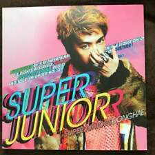 Super Junior Mr. Simple Donghae cover ver. LP size Kpop CD + 10 Photocard F/S