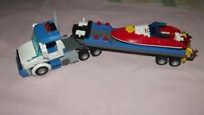 lego artic truck with boat