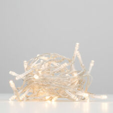 40 Warm White Plug In Low Voltage LED Fairy String Chain Micro Lights Lamp Set