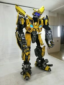 Transformer Bumblebee, Optimus Prime  Cosplay Costume FROM ABS PLASTIC