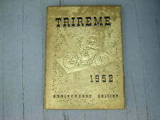 "1952 Ford City High School Yearbook ""Trireme""  Pennsylvania"