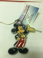 "Disney Mickey Mouse PVC Keychain 3"" Long"